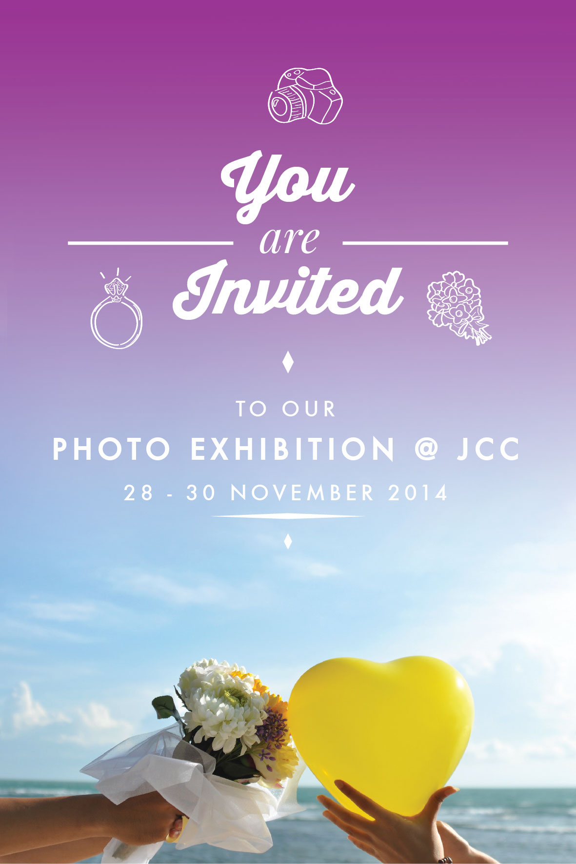 You're invited to our Photo Exhibition @ JCC :)