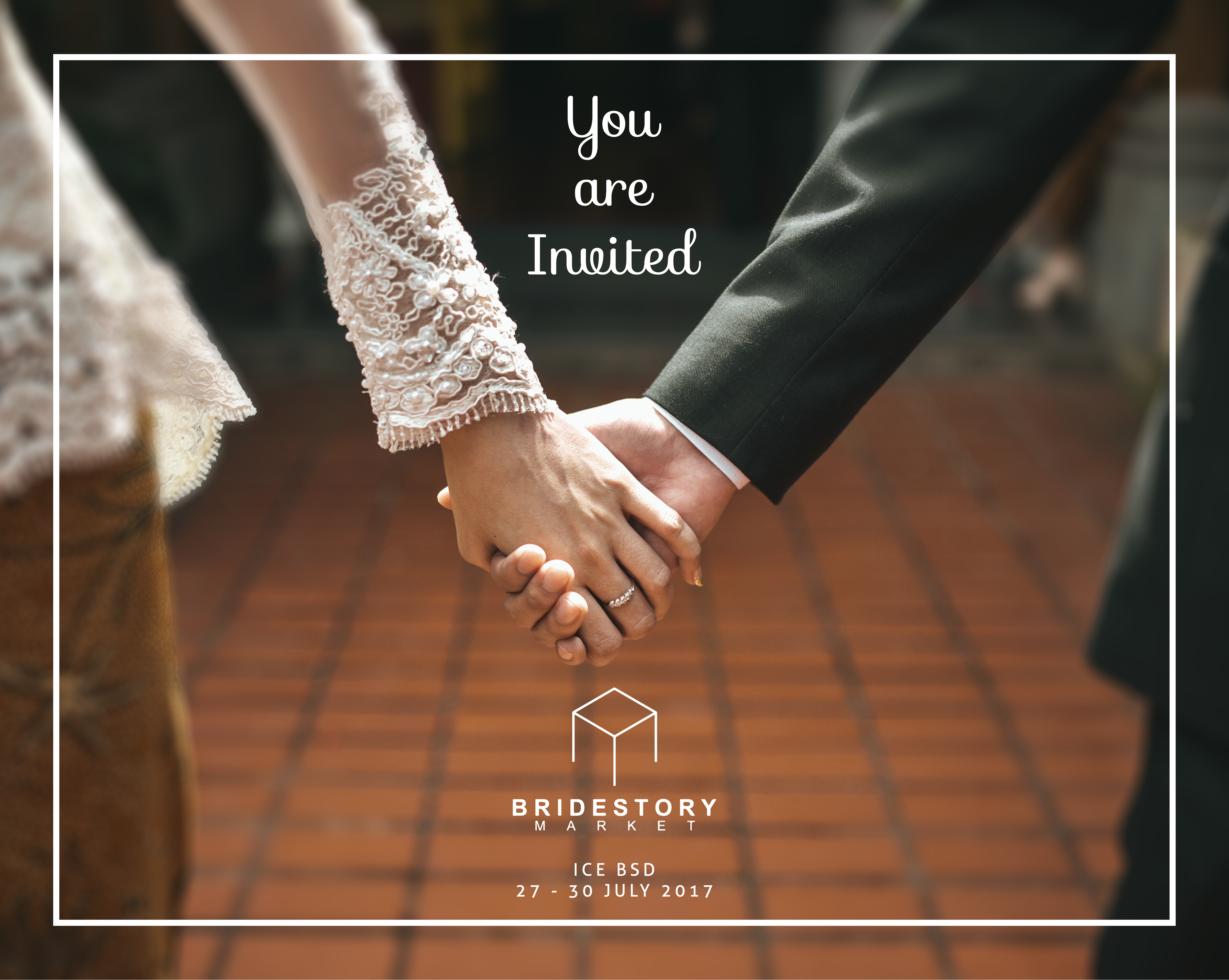 We'll Be Coming Over to BrideStory Market 2017